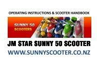 Sunny Scooter Handbook - Wep.co.nz