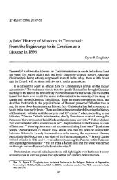 A Brief History of Missions in Tirunelveli - BiblicalStudies.org.uk