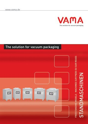 PDF Standmaschinen - Vama Maschinenbau GmbH