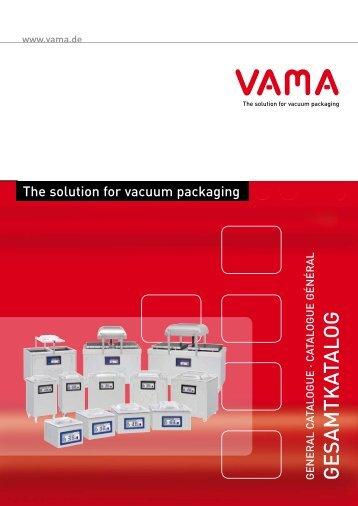 PDF Gesamtkatalog - Vama Maschinenbau GmbH