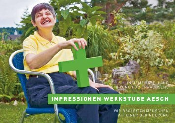 IMPRESSIONEN WERKSTUBE AESCH
