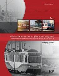 Part I - Calgary Transit