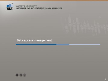 Data access management