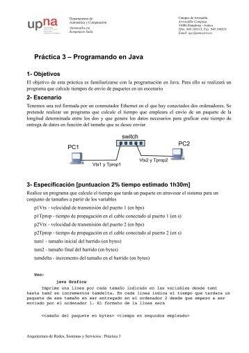 Práctica 3 – Programando en Java