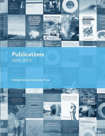 Publications - United Nations University