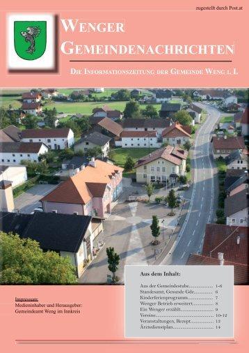 (1,18 MB) - .PDF - Weng im Innkreis