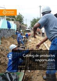 Catàleg de productes responsables - ISF