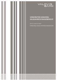 (Notes) der VALOVIS Gruppe - Valovis Bank - Startseite