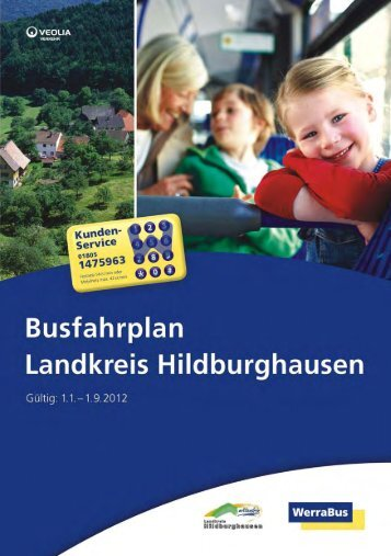 Busfahrplan Landkreis Hildburghausen - WerraBus