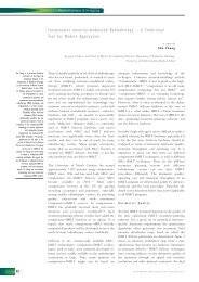 Compensator-intensity-modulated Radiotherapy ... - Touch Oncology