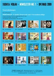 Tushita Verlag - NEWSLETTER no. 1 - Oktober 2009