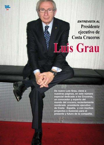 Presidente ejecutivo de Costa Cruceros - TAT Revista