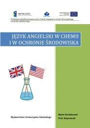 język angielski w chemii iw ochronie środowiska - Uniwersytet ...