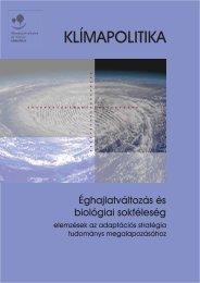 Éghajlatváltozás és biológiai sokféleség