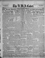 The Cadet. VMI Newspaper. November 08, 1938 - New Page 1 ...