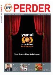 PERDER Dergisi 20.Sayı - Türkiye Perakendeciler Federasyonu