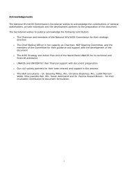National Strategic Plan - PANCAP- Pan Caribbean Partnership ...