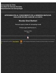 Nicolás Gissi Barbieri - Facultad de Ciencias Sociales - Universidad ...
