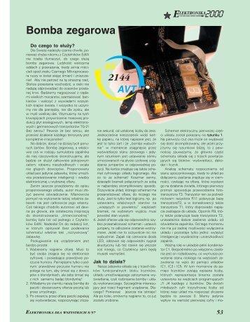 Bomba zegarowa (361KB) - Elportal