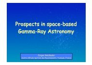 Prospects in space-based Gamma-Ray Astronomy - Cesr