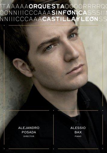 ALEJANDRO POSADA ALESSiO bAx - Blog del Auditorio Miguel ...