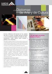 LOS Diplomas de Arte - Campus France