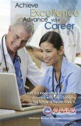 Download the Membership Brochure - American Nursing Informatics ...