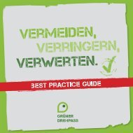 Best Practice Guide - bei der Film Commission