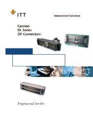ITT Cannon DL Series of Zero Insertion Force (ZIF) connectors.pdf