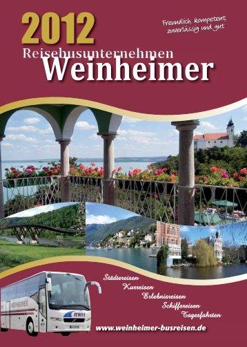 380,00 - Weinheimer Busreisen