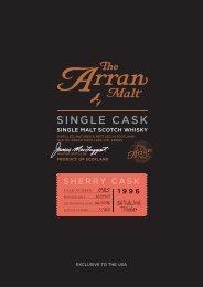 PremierCask Sherry SellSheet A4 1996_1785.indd - Isle of Arran