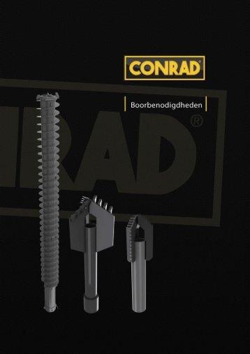Boorbenodigdheden - Conrad Stanen BV