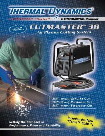 63-2203 CutMaster 38 1/04_TDHC