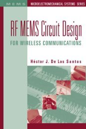 RF MEMS Circuit Design for Wireless Communications - calibre library