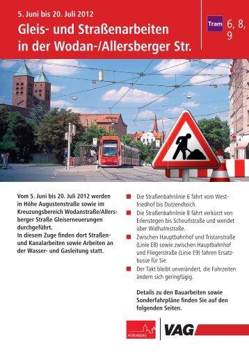 E8 Tristanstraße -  Schweiggerstraße - Marientunnel ... - VAG