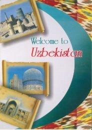 Uzbekistan Brochure - Travel Impact Newswire