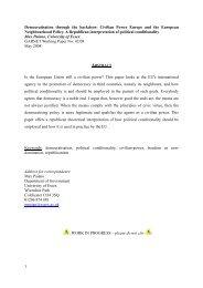 GARNET Working Paper No. 42/08 - Bad Request