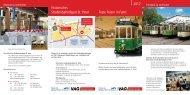 Historisches Straßenbahndepot St. Peter Feste Feiern in Fahrt ... - VAG