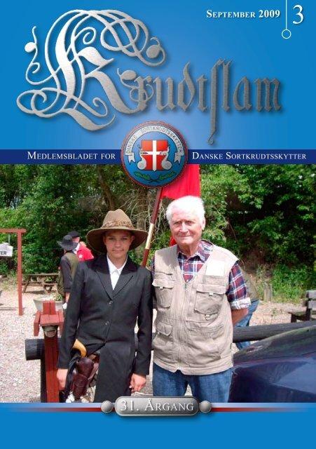 Krudtslam Nr. 3-2009 - Forbundet Af Danske Sortkrudtskytteforeninger