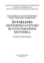 ŽVYNELINĖS SISTEMINIO GYDYMO IR FOTOTERAPIJOS METODIKA