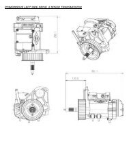 Powerdrive Left Side Drive 6 Speed Transmission [exploded view]