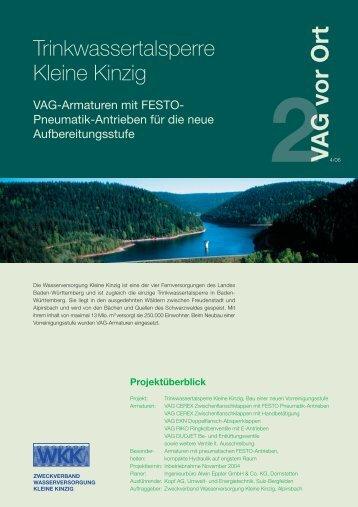2V AG vor Ort - VAG Armaturen