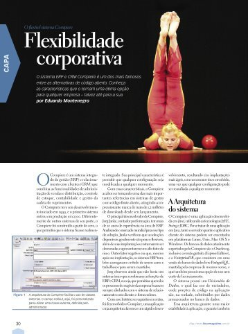 Flexibilidade corporativa - Linux New Media