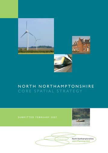 View / Download - North Northamptonshire Joint Planning Unit