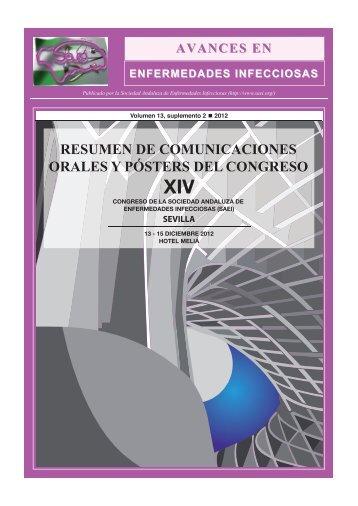 PDF del congreso - Sociedad Andaluza de Enfermedades Infecciosas