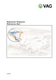 Talsperre/Dam, Schwammenauel - VAG Armaturen