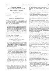 Gesetze und Gesetzentwürfe zur Unabhängigkeit der ...