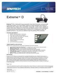 Extreme™ D - Spartech Corporation