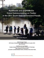 #qldfloods and @QPSMedia: Crisis Communication on Twitter in the ...