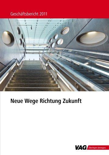 Neue Wege Richtung Zukunft - VAG